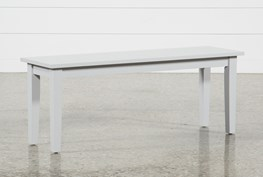 Lindy Dove Grey Bench