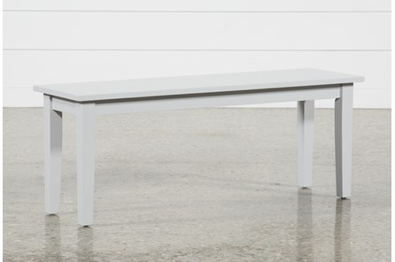 Lindy Dove Grey Bench - Main