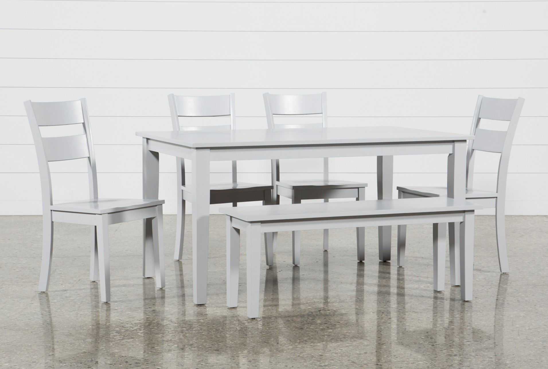 4626966f64d15 Lindy 6 Piece Dove Grey Rectangle Dining Set (Qty  1) has been successfully  added to your Cart.
