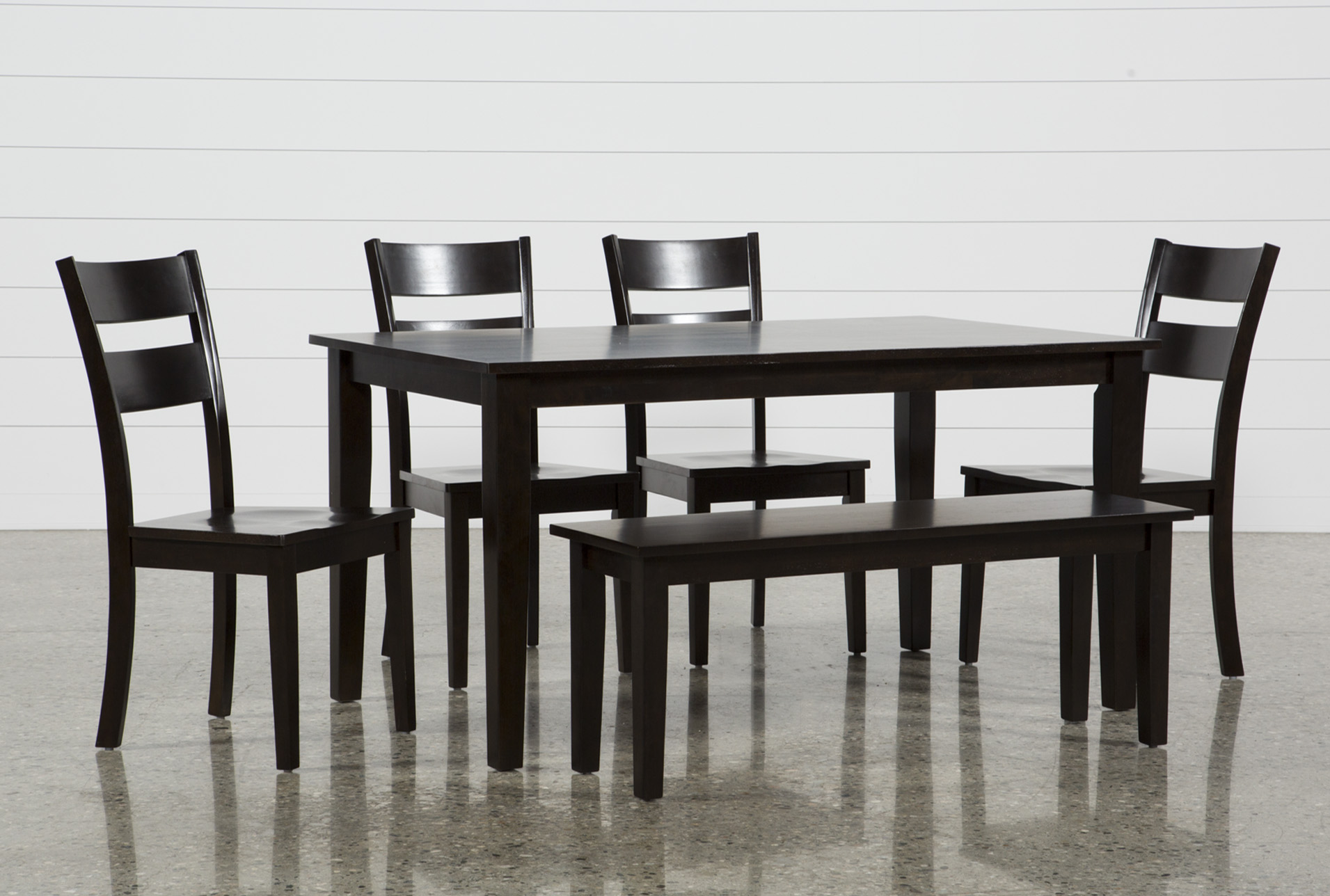 Merveilleux Lindy 6 Piece Espresso Rectangle Dining Set (Qty: 1) Has Been Successfully  Added To Your Cart.