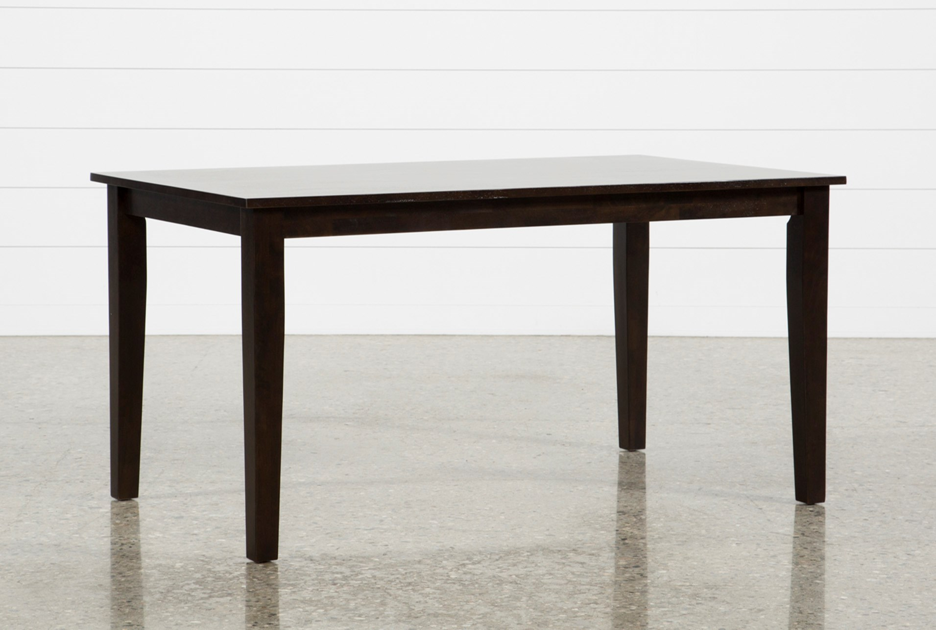 Lindy Espresso Rectangle Dining Table Living Spaces