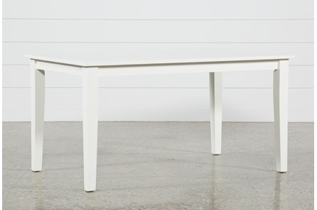 Lindy Paper White Rectangle Dining Table - Main