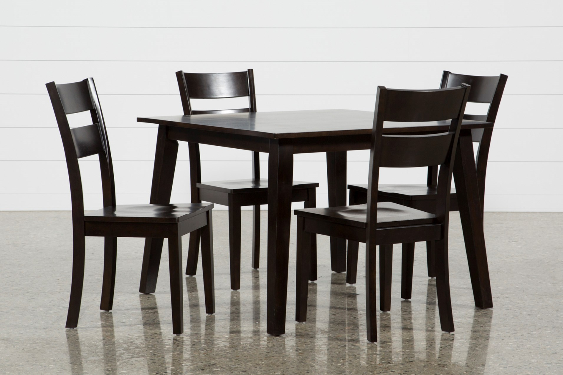 Mandy 5 Piece Espresso Square Dining Set Qty 1 Has Been Successfully Added To Your Cart