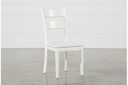 Mandy Paper White Side Chair - Main