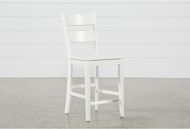 Mandy Paper White Counterstool - 360