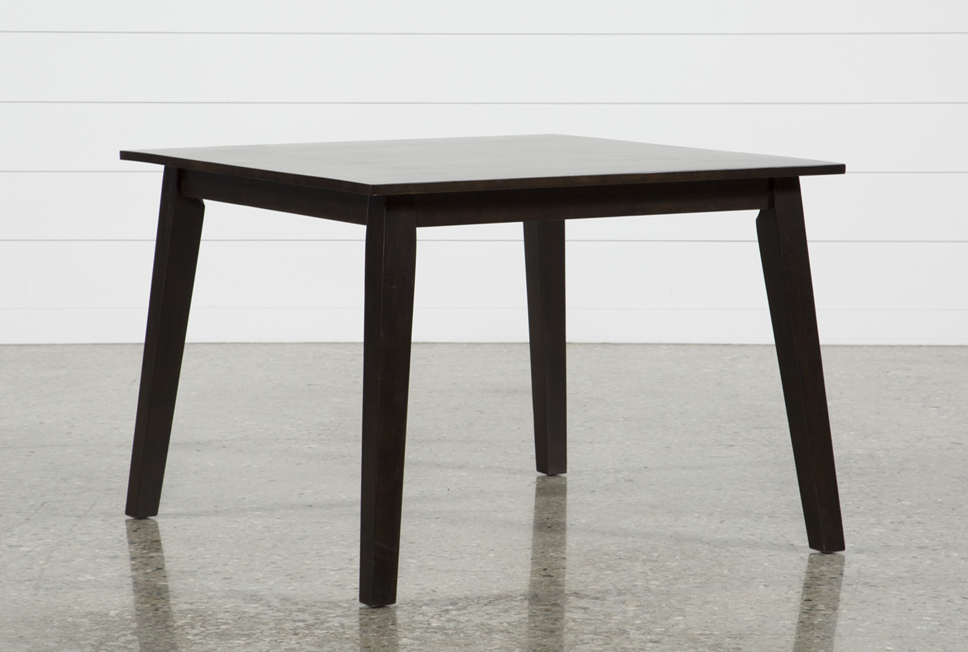 Mandy Espresso Square Dining Table