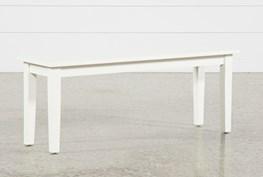 Mandy Paper White Bench