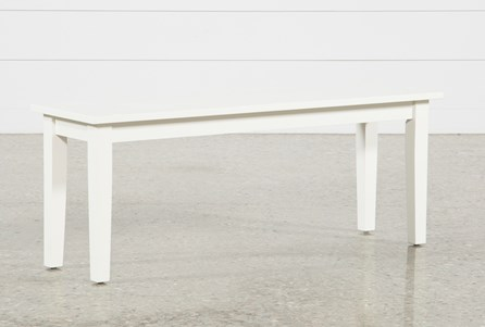 Mandy Paper White Bench