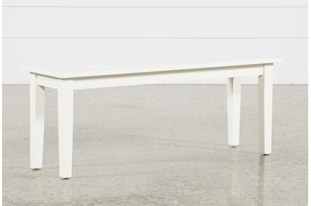 Mandy Paper White Bench - Main