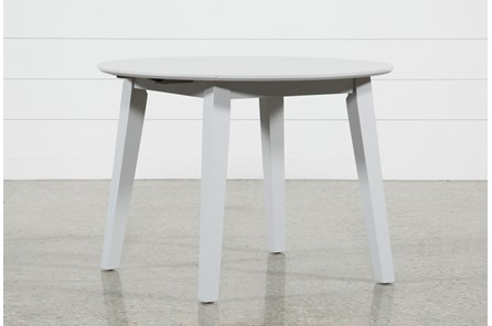 Moxy Dove Grey Round Dining Table - Main