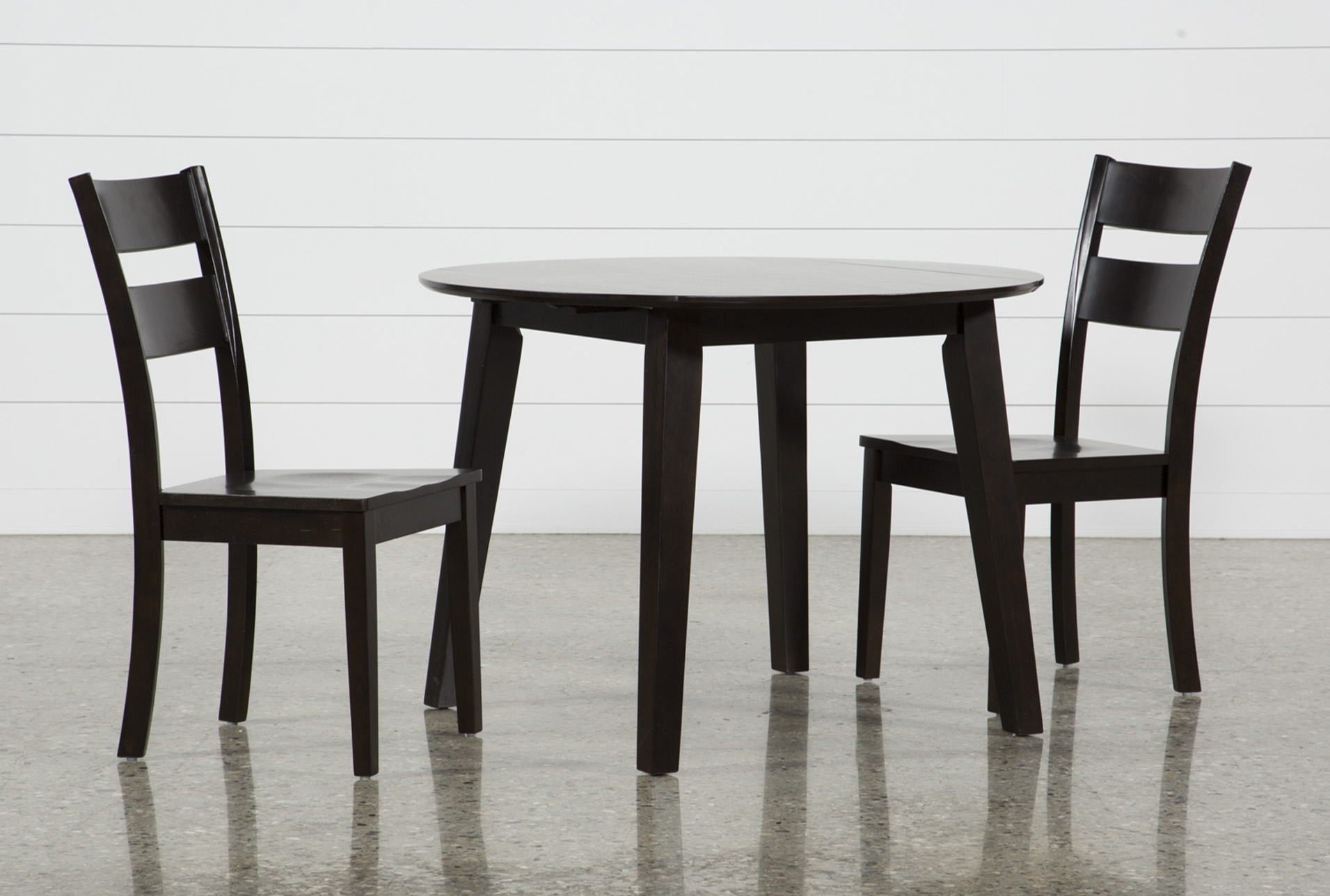 Moxy 3 Piece Espresso Round Dining Set (Qty: 1) Has Been Successfully Added  To Your Cart.