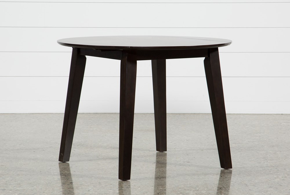 Moxy Espresso Round Dining Table