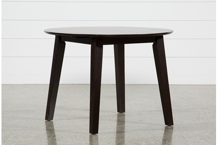 Moxy Espresso Round Dining Table - Main