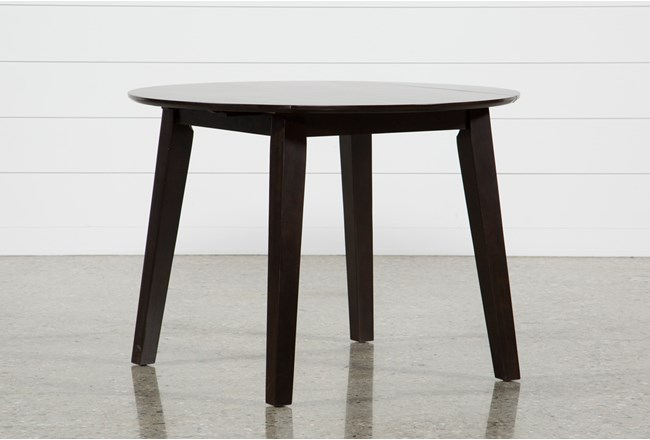 Moxy Espresso Round Dining Table