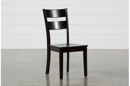 moxy espresso side chair living spaces