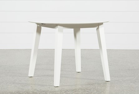 Moxy Paper White Round Dining Table