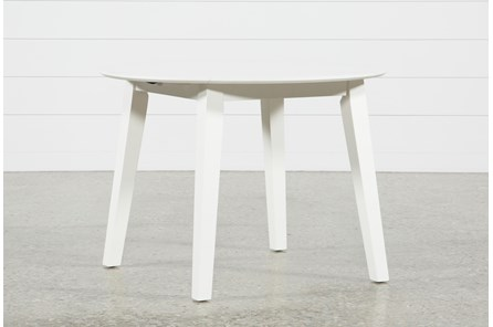 Moxy Paper White Round Dining Table - Main