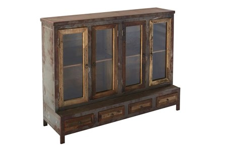 4 Door Loha Wooden Cabinet