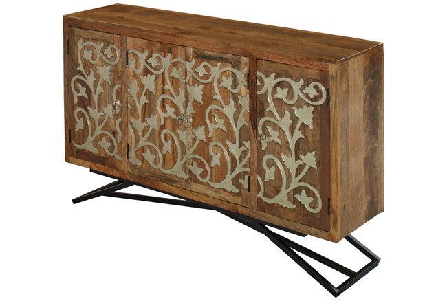Panna Sideboard With Metal Legs - 360