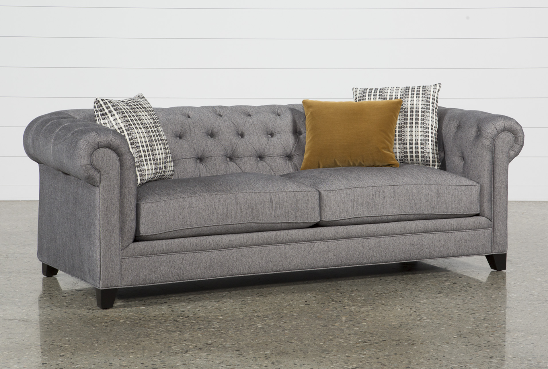 Fabric Sofas - Free Assembly with Delivery   Living Spaces