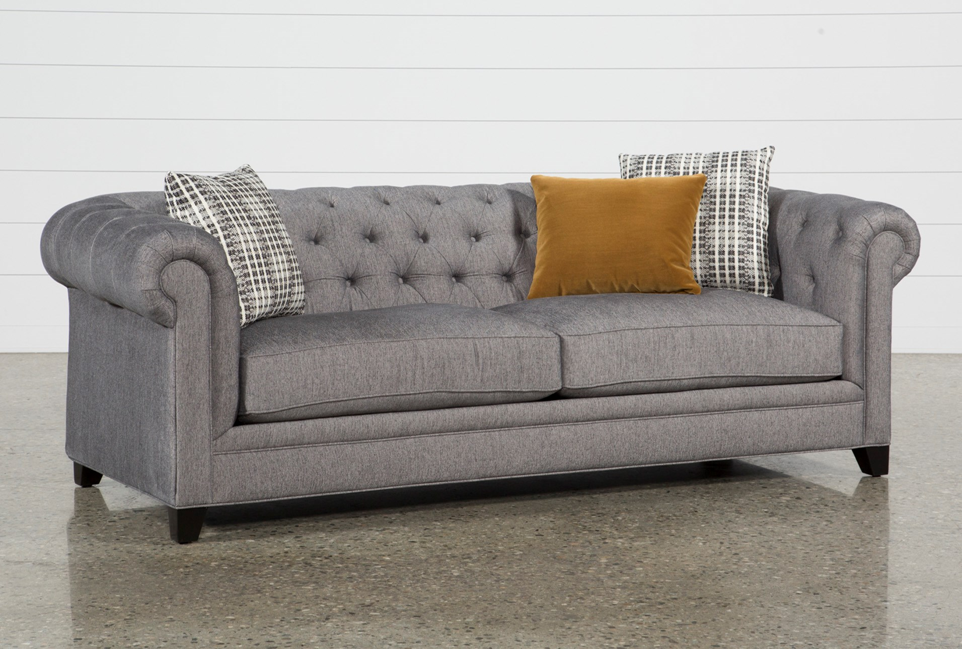 Fabric Sofas Couches Free Assembly With Delivery Living Spaces # Muebles Jeffrey