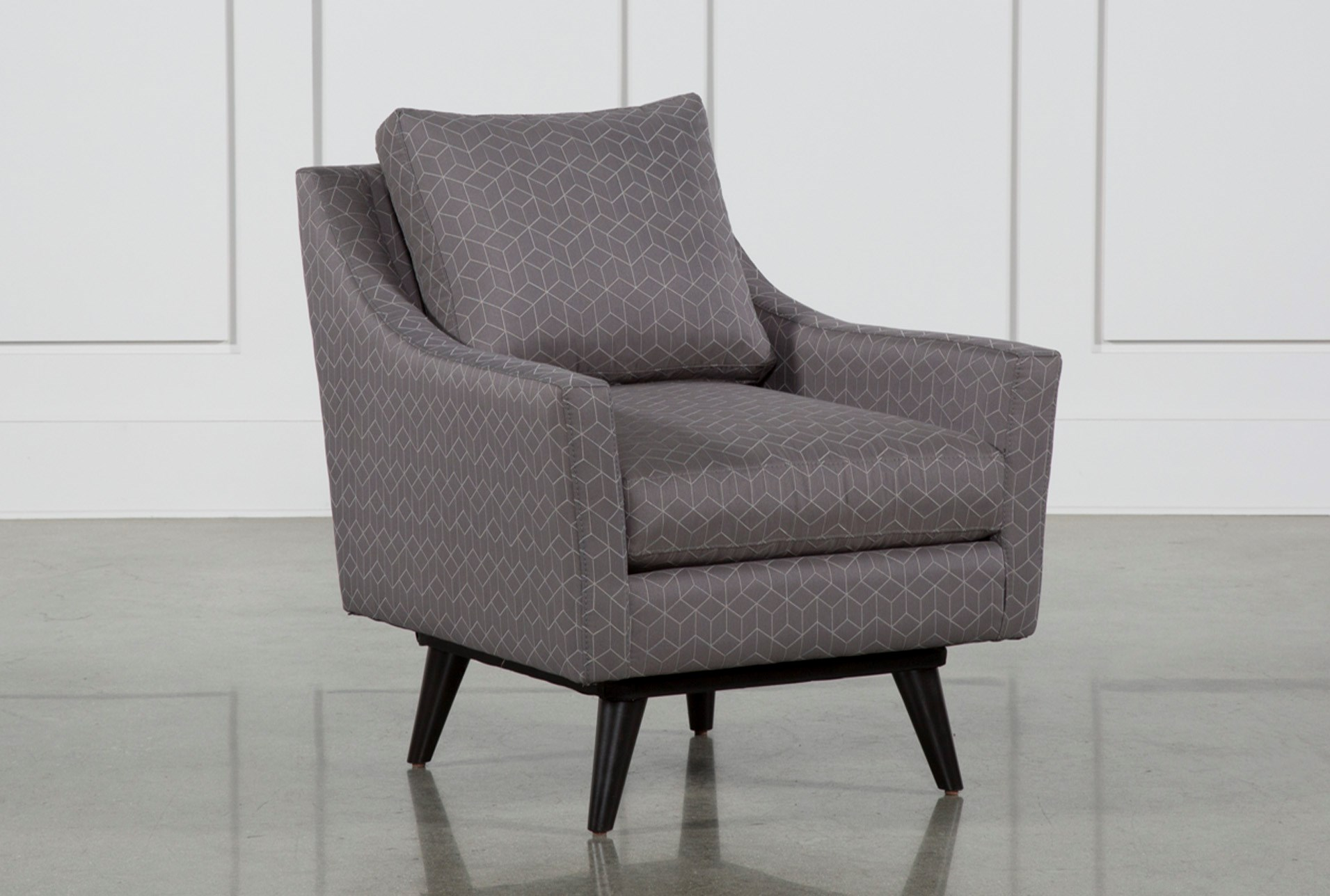Living Spaces Accent Chairs : Mitchell Swivel Accent Chair  Living Spaces