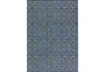 60X96 Rug-Magnolia Home Emmie Kay Navy/Cream By Joanna Gaines