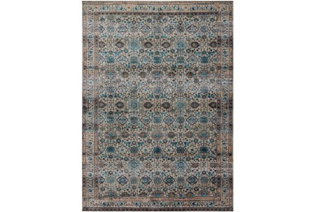 94X130 Rug-Magnolia Home Kivi Fog/Multi By Joanna Gaines