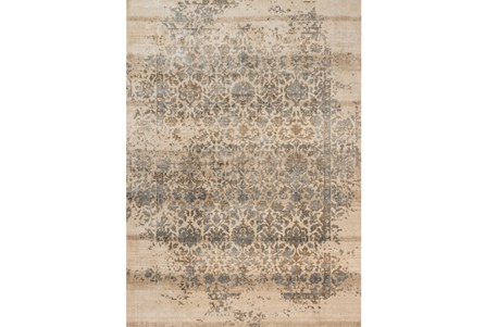 63X92 Rug-Magnolia Home Kivi Ivory/Quarry By Joanna Gaines