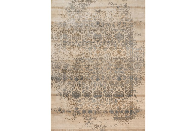63X92 Rug-Magnolia Home Kivi Ivory/Quarry By Joanna Gaines - 360
