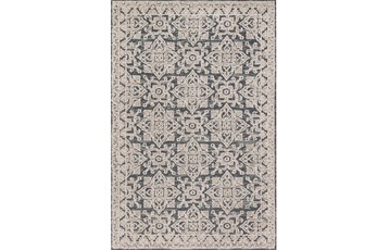 93X117 Rug-Magnolia Home Lotus Fog/Beige By Joanna Gaines