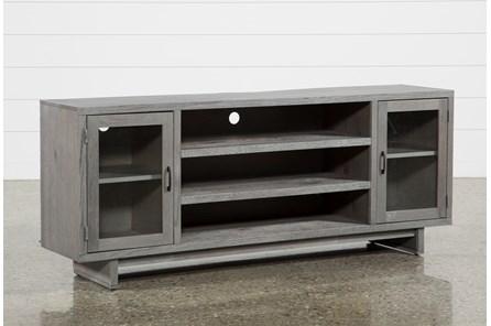 Melrose Titanium 74 Inch TV Stand - Main