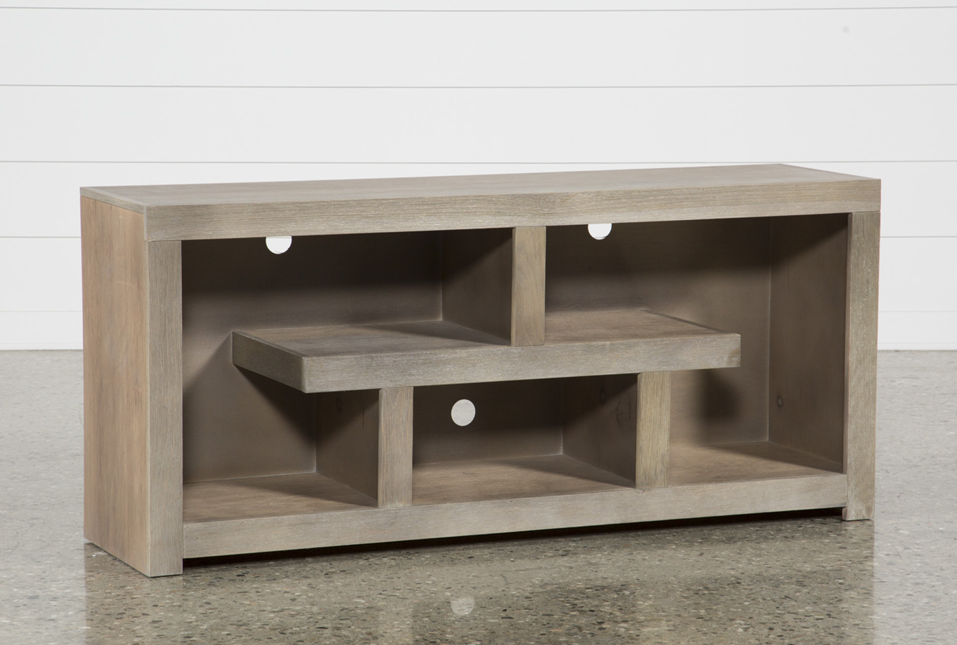Walton Grey 60 Inch TV Stand Living Spaces
