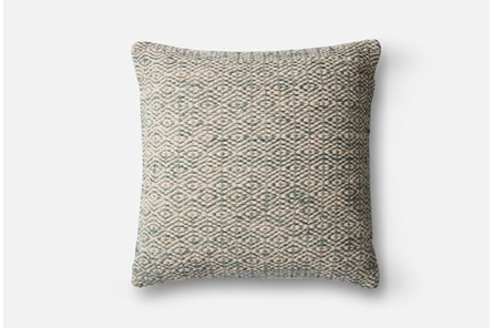 Accent Pillow-Magnolia Home Diamond Grey 22X22 By Joanna Gaines - Main
