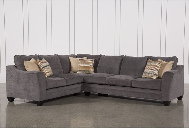 Mesa Foam 2 Piece Sectional | Living Spaces