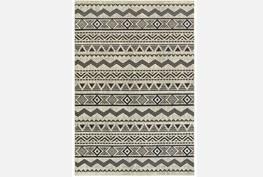 46X65 Rug-Southwest Stripes Charcoal
