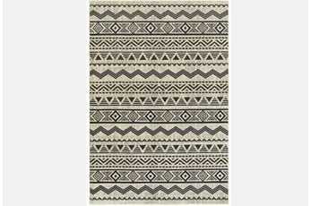 63X90 Rug-Southwest Stripes Charcoal