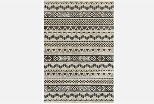 118X154 Rug-Southwest Stripes Charcoal - 360