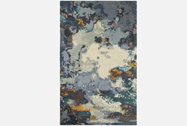 42X66 Rug-Matiz Blue/Gold