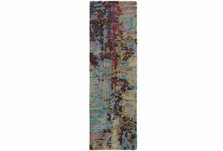 30X96 Rug-Matiz Blue/Berry