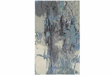"3'5""x5'5"" Rug-Matiz Blue/Grey"