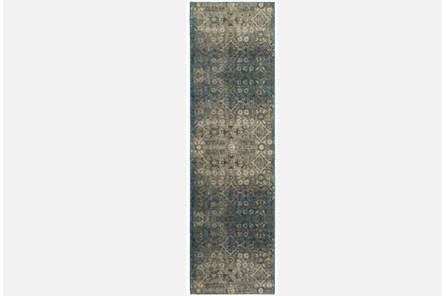 27X90 Rug-Thomas Blue