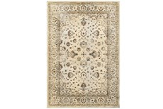 27X90 Rug-Valley Tapestry Cream