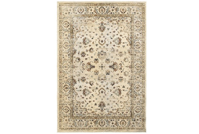 """3'8""""x5'4"""" Rug-Valley Tapestry Cream - 360"""