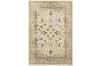 """6'6""""x9'5"""" Rug-Valley Tapestry Cream"""