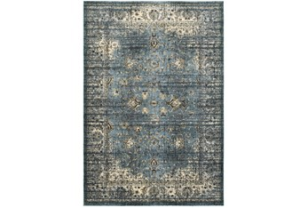 """7'8""""x10'8"""" Rug-Valley Tapestry Blue"""
