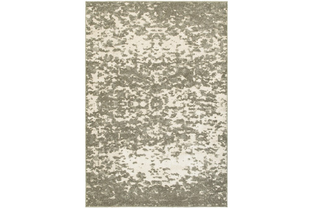 79X114 Rug-Xandra Spotted Light Grey