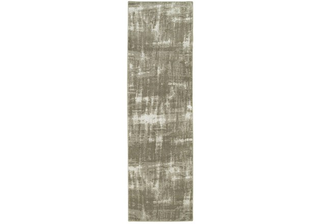 27X90 Rug-Xandra Brushed Grey - 360