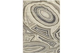 79X114 Rug-Xandra Swirl Light Grey