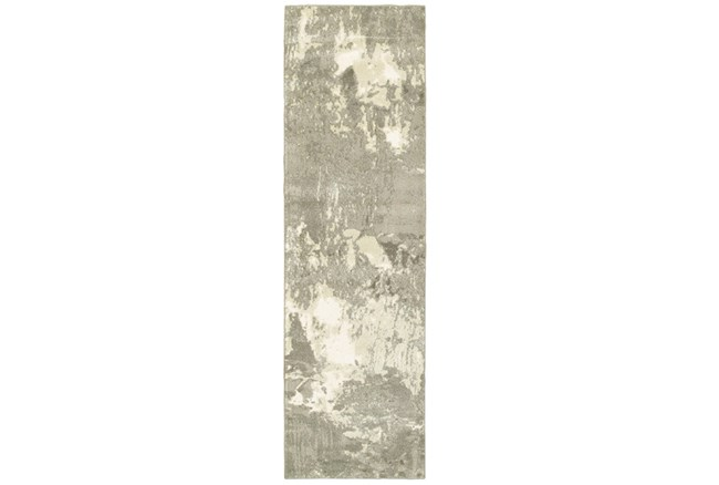 27X90 Rug-Xandra Light Grey - 360